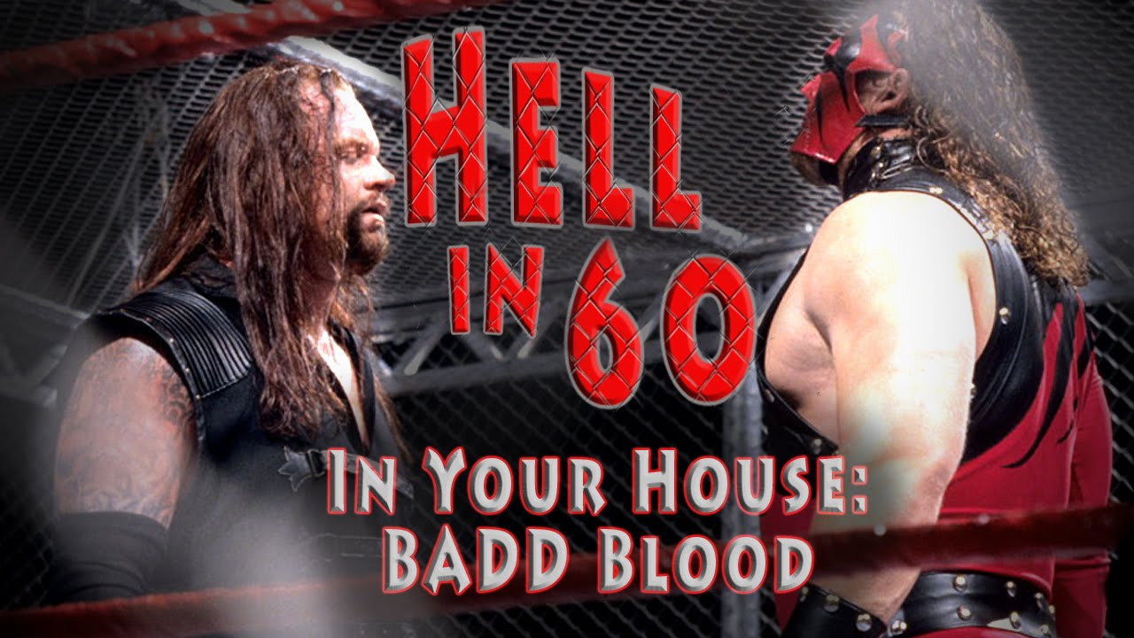 60 Seconds in Hell - The Undertaker vs. Shawn Michaels - In Your House: Badd Blood