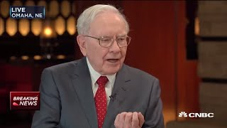 Warren Buffett State of the Economy Interview 2016