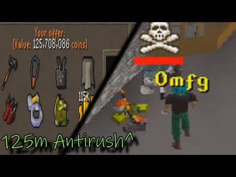 125m ANTI-RUSH, 7+ AGS SMITES & 500M+ Loots (GC#1) - Osrs Pking