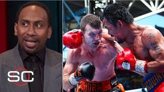 Stephen A. can't believe the judges' decision on Pacquiao-Horn fight | SportsCenter | ESPN