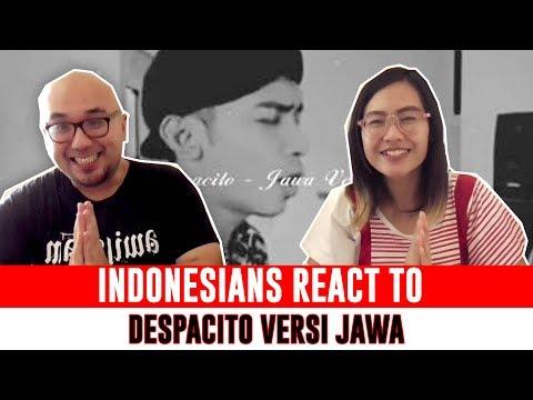 Indonesians React To DESPACITO versi Bahasa JAWA ( Indonesian Javanese Version Cover) DEK LASTRI