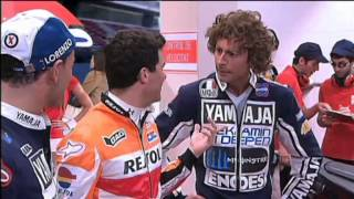 Rossi i Lorenzo visiten Marc Márquez  - Crackòvia - TV3