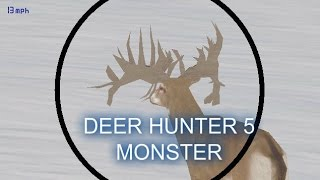 monster buck in Deer hunter 5