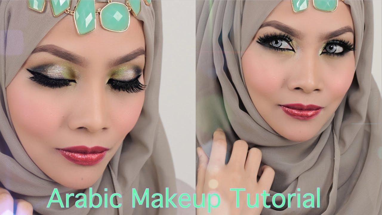 Arabic inspired Smokey Green Eyeshadow - Sendayu Tinggi ...