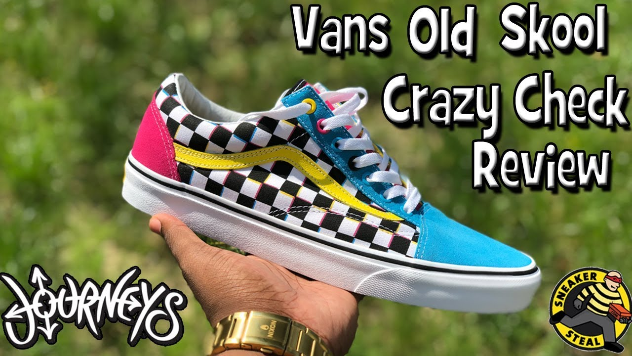 In Depth Review of Vans Old Skool Crazy Check from Journeys - YouTube 403bb17b8