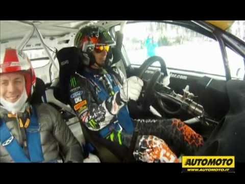 Onboard con Ken Block su Ford Focus WRC ad Igora Park