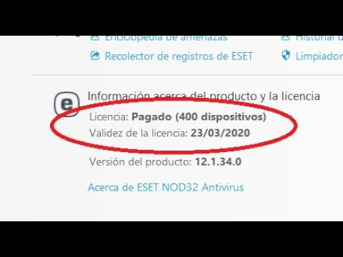 Licencia Nod32 Febrero 2021 A 2024 Youtube