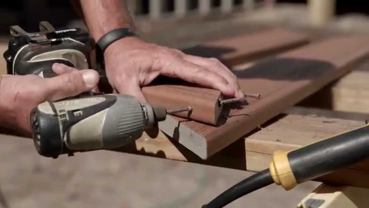 FastenMaster PROStar PROTips Gary Daley   Picture Framing Stair Treads