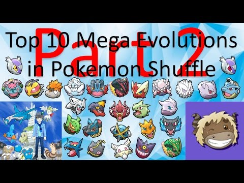 Top 10 Pokemon Shuffle Mega Effects (ft. Pak Adi Yak) - Part 2