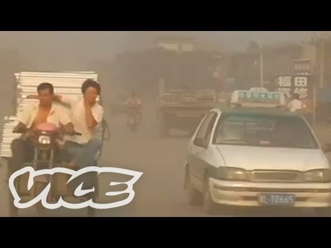 中国の環境汚染 - Toxic Linfen China