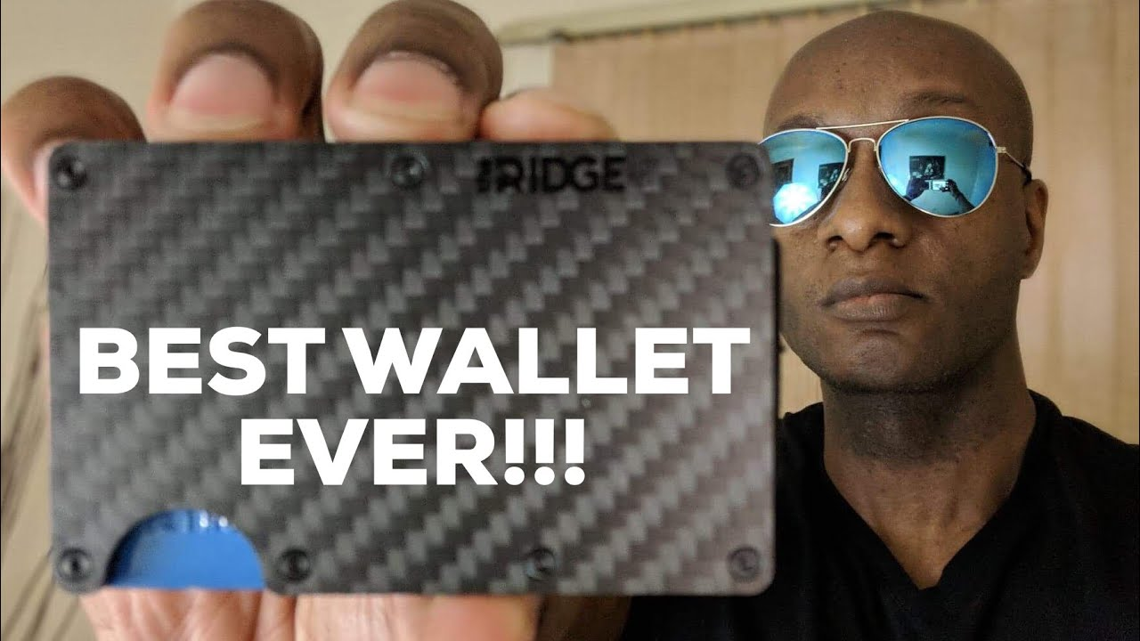 97741debc564 BEST WALLET EVER - The Ridge Wallet Carbon Fiber Review