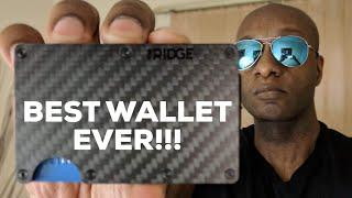 BEST WALLET EVER - The Ridge Wallet Carbon Fiber Review