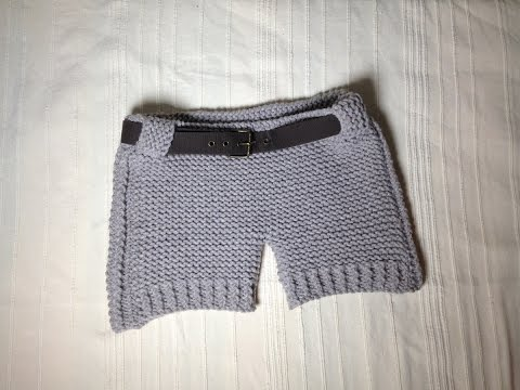 How to Loom Knit Shorts (DIY Tutorial)
