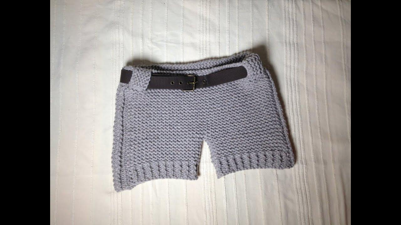 How to Loom Knit Shorts (DIY Tutorial) - YouTube