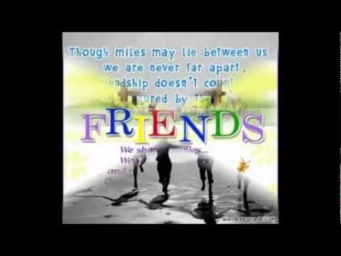Friendship Quotes I Ll Be There For You Friends Youtube