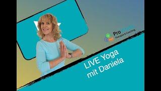 LIVE Yoga mit Daniela DI 09.06.20