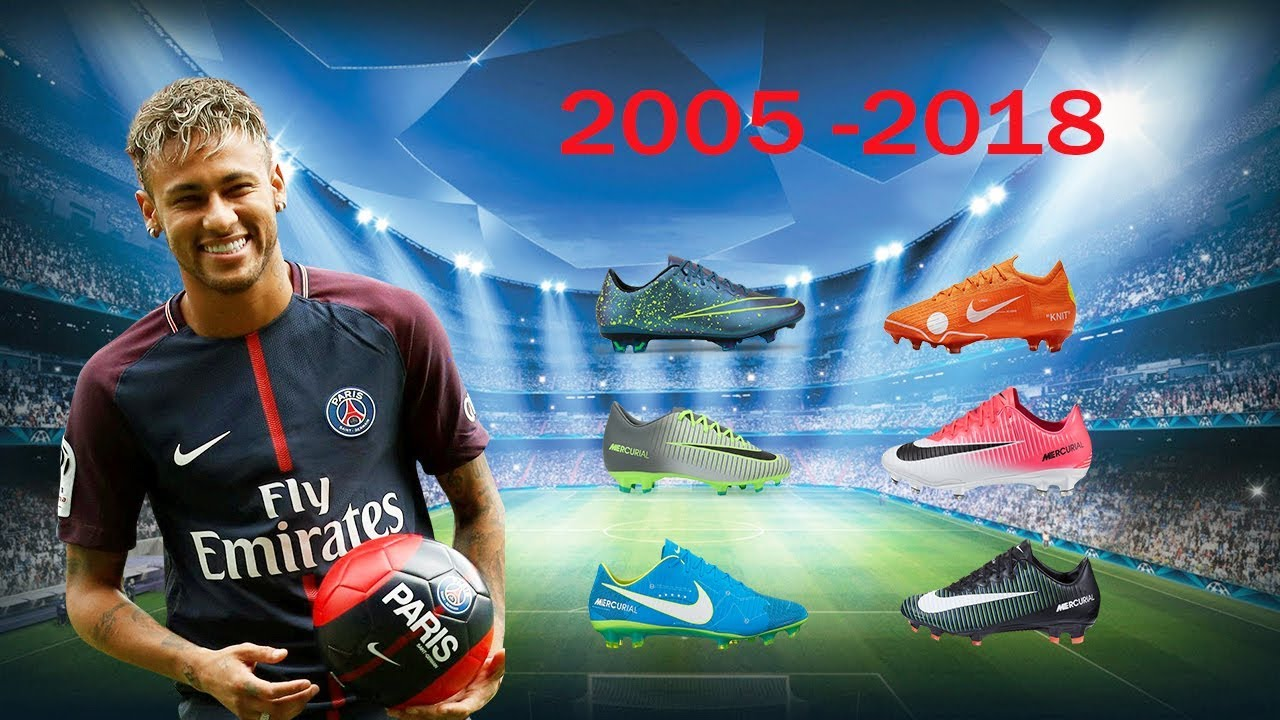 2fae73064 Neymar Jr - All Football Boots 2005-2018