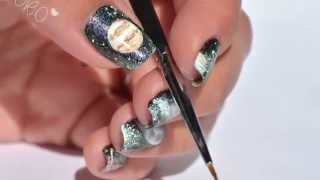 Nail art planète (Collection Envoûtement Galactique) Thumbnail