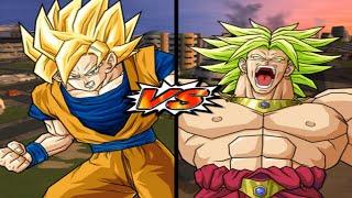 [TAS] DBZ BT3: Goku (End) Vs. Broly (Enhanced Red Potara) (Request Match)