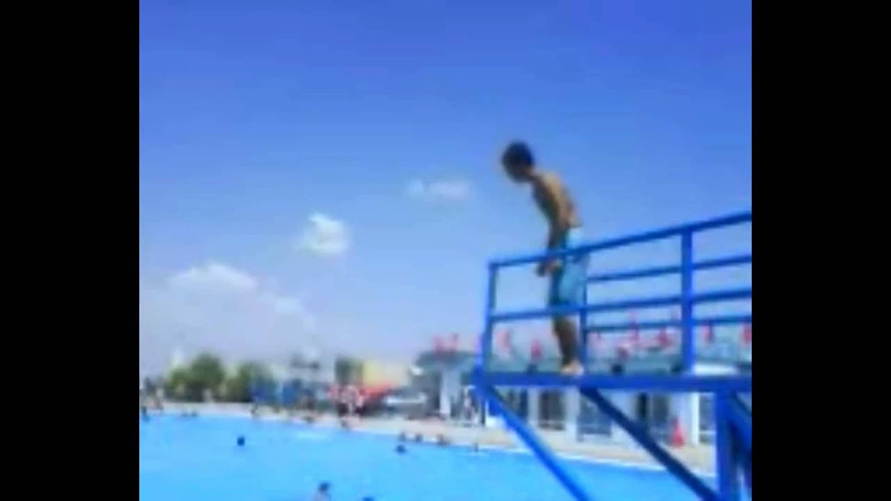 Image Gallery Swimming Jump