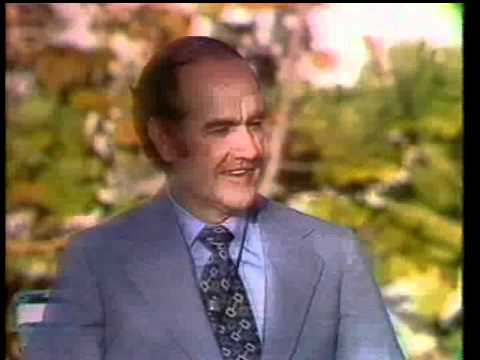 George McGovern on the eve of the Flordia primary 1972