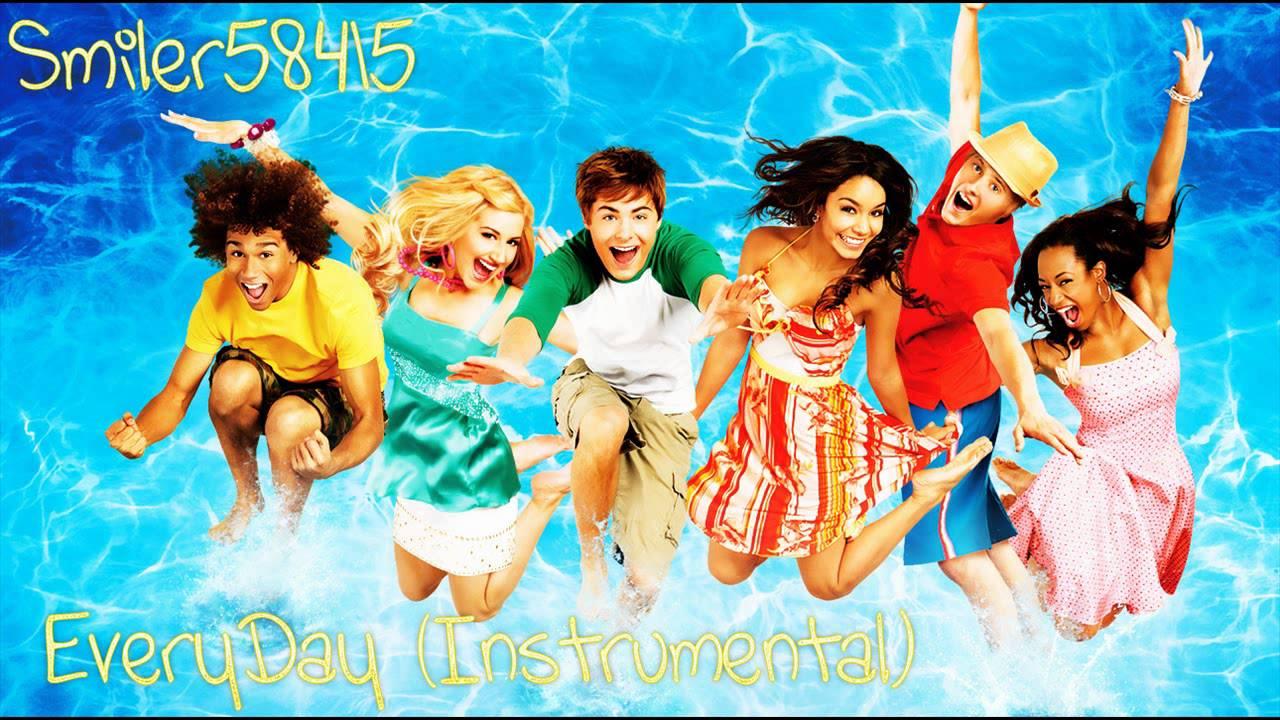 Uncategorized Everyday High School Musical everydayhigh school musical 2instrumental youtube 2instrumental