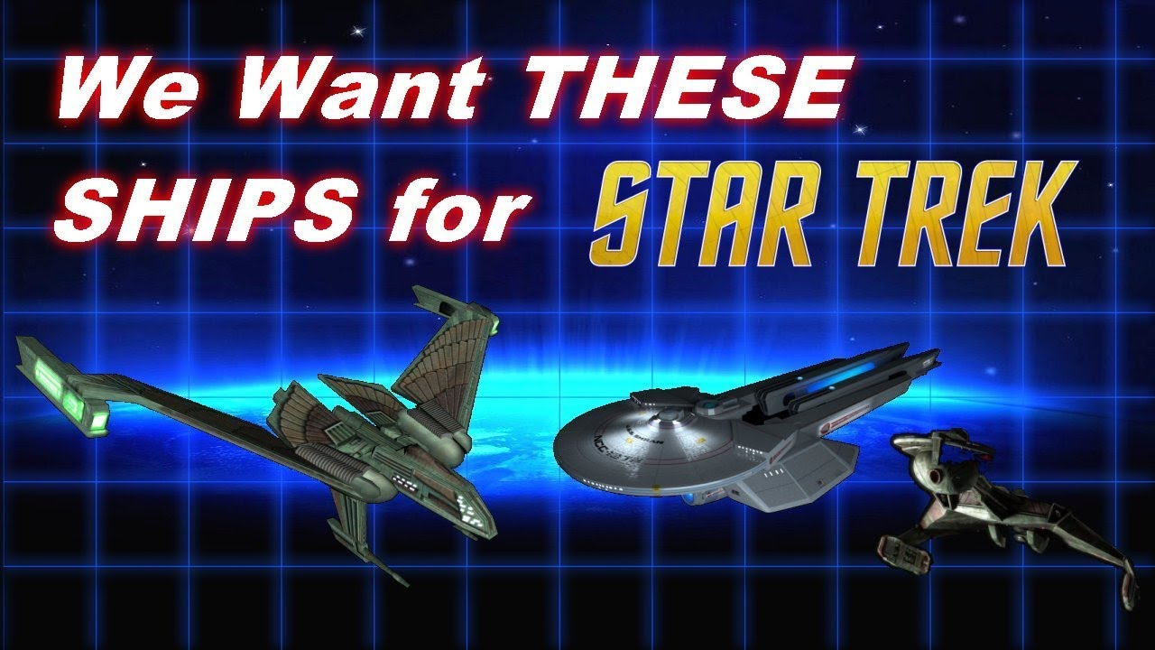 Awesome Star Trek Ships that SHOULD be On-Screen!