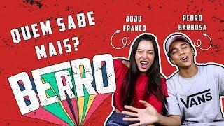 PEDRO BARBOSA sabe QUANDO foi o PRIMEIRO BEIJO da JUJU FRANCO?