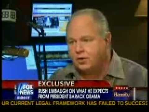 Rush Limbaugh exclusive interview with Sean Hannity Part 1