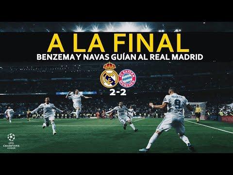 EL GRAN GESTO DE JAMES Y LOS GOLES DE BENZEMA | ANÁLISIS Y GOLES REAL MADRID 2-2 BAYERN MUNICH