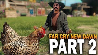 Far Cry New Dawn PC Gameplay Part 2 - Oil, Bears & Treasure
