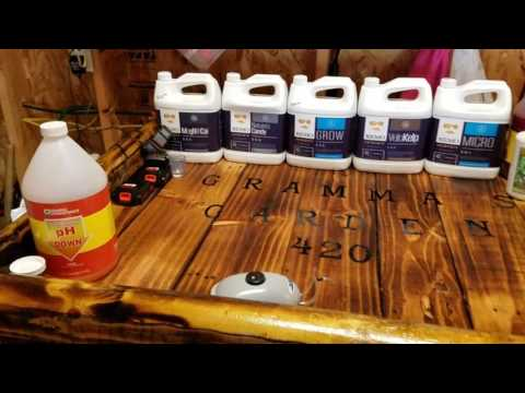 Remo Nutrients and Roots Organic General Hydroponics
