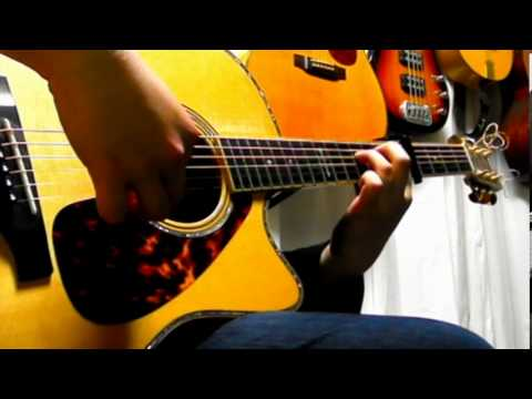 Snowfall in Tokyo (original) - solo acoustic guitar