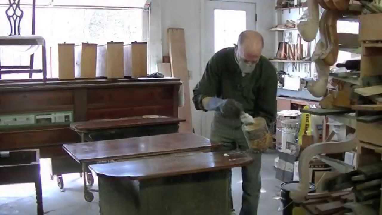 Refinishing A Drop Leaf Table Thomas Johnson Antique Furniture Restoration