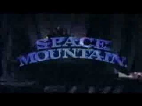 Advert Space Mountain - De la Terre à la Lune (Maquette ...