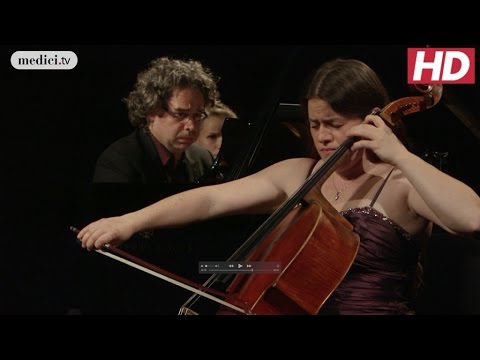 Camille Saint-Saëns - Cello Sonata No. 1 in C Minor, op. 32 - Emmanuelle Bertrand et Pascal Amoyel