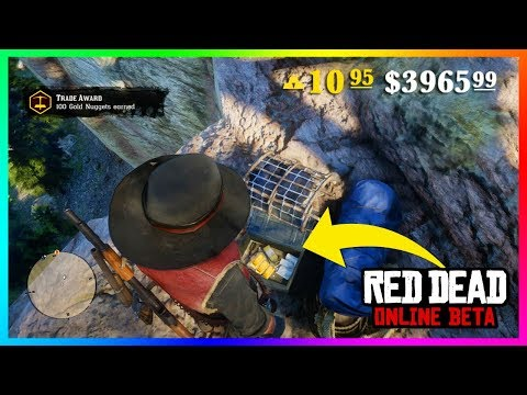 Red Dead Online - How To Make Money FAST! Easy Ways To Get GOLD BARS & Cash Quickly! (RDR2)