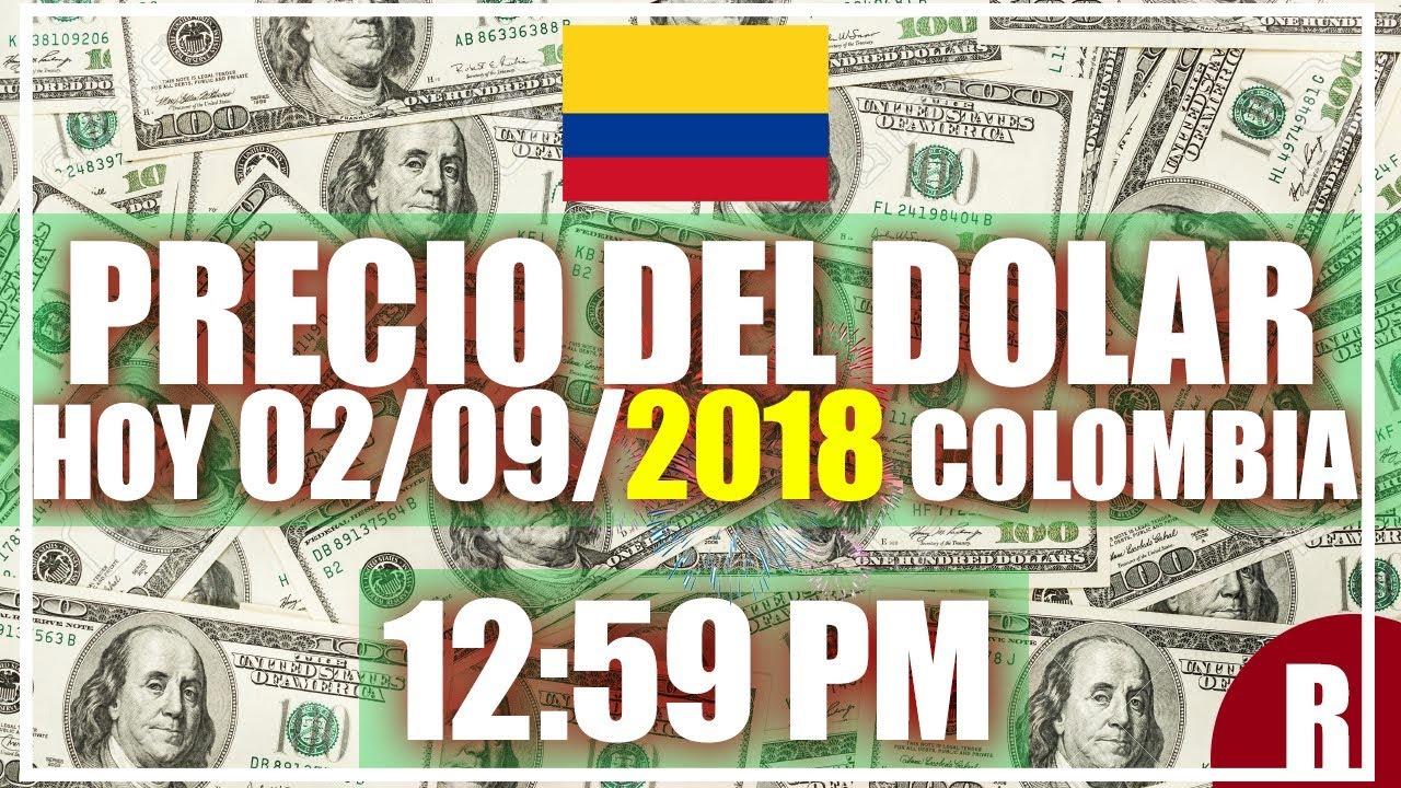 Precio Del Dolar Hoy En Colombia 02 De Septiembre 2018