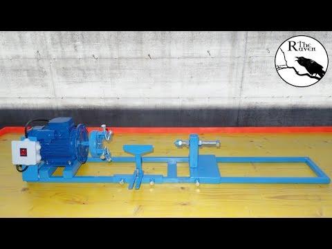 DIY Lathe for Wood