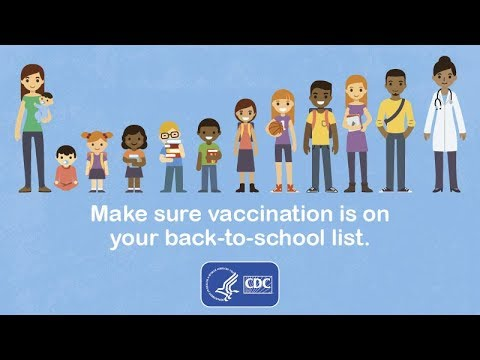 Make Sure Vaccination is on your Back-to-School List!