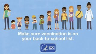 Make Sure Vaccination is on your Back-to-School List! Video
