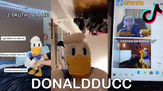 TikTok Donaldducc Donald Duck Funny Impressions Compilation #1