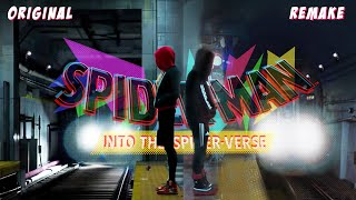 I TRIED TO REMAKE A SCENE FROM SPIDER-MAN INTO THE SPIDER VERSE
