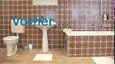 Marley Fußbodenplatten ~ Bad neu gestalten boden und wände im alten badezimmer renovieren