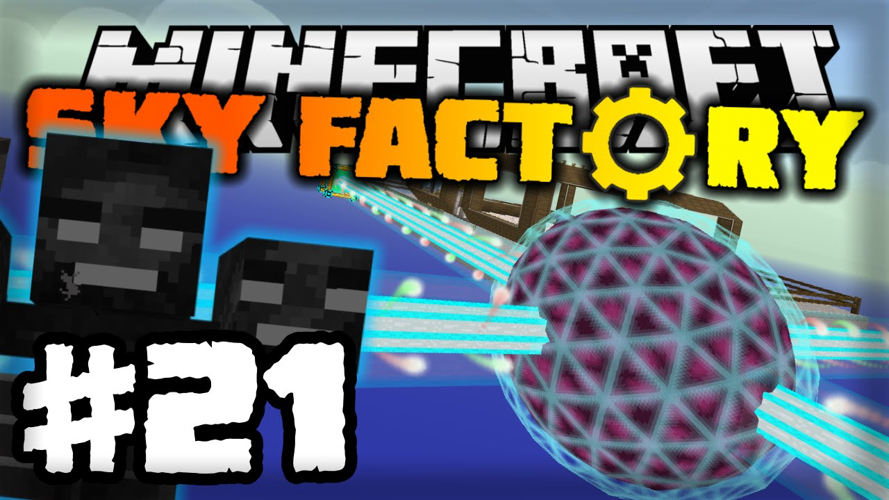 sky factory how to get rid of a wither