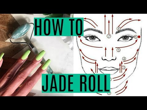 HOW TO USE A JADE ROLLER   Benefits Of Using It