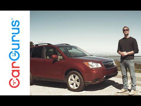 Subaru Boxer Engine >> 2016 Subaru Forester | CarGurus Test Drive Review - YouTube