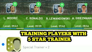 Training Top Player's With 5 STAR TRAINER _ PES 2019