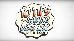 10 Tips for Saving Water in the Home