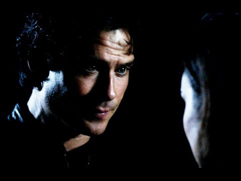 'The Vampire Diaries' Deleted Scene // Damon And Sybil In Season 8